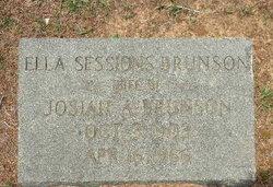 Ella <i>Sessions</i> Brunson