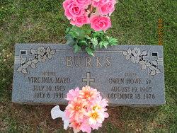 Virginia <i>Mayo</i> Burks