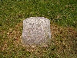 C Gertrude <i>Rappleye</i> Baldridge