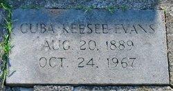 Cuba <i>Keesee</i> Evans
