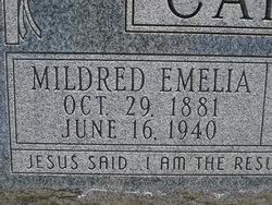 Mildred Emelia <i>Lofgren</i> Carlson