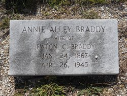 Annie <i>Alley</i> Braddy