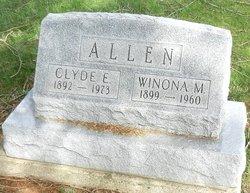 Winona Merle <i>Eveland</i> Allen