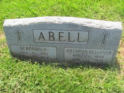 Kathryn <i>Kelleher</i> Abell