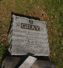 Samaria <i>Hugg</i> Gray