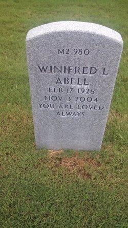 Winifred Laverne <i>Copeland</i> Abell