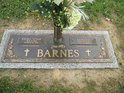 Velma Mary Cissie <i>Mangrum</i> Barnes