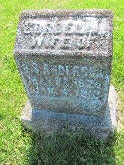 Mary Cordelia <i>Hayden</i> Anderson