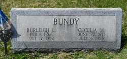Cecelia Mabel <i>Arthurs</i> Bundy