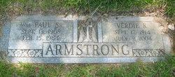William P Armstrong, Sr