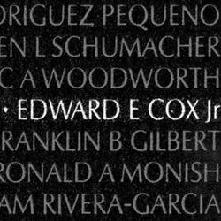 Spec Edward Erlin Eddie Cox, Jr