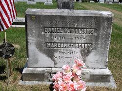 Margaret <i>Berry</i> Williams