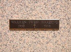 Warren Wesley Wes Harding