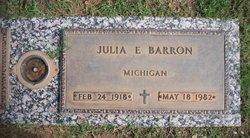 Julia E Barron