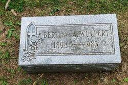 Bertha M <i>Wulfert</i>