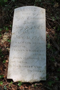 Harriet A <i>Boon</i> Eatman