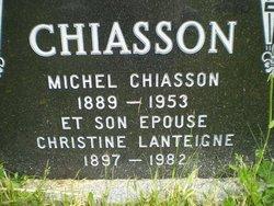 Christine <i>Lanteigne</i> Chiasson
