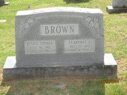 Bessie <i>Spence</i> Brown