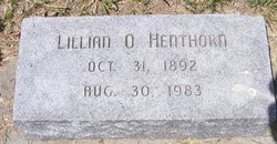 Lillian O Henthorn