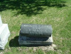 Caroline E. <i>Davis</i> Heacock