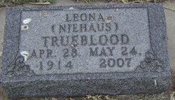 Leona <i>Niehaus</i> Trueblood