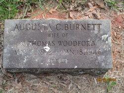 Augusta Clementine <i>Burnett</i> Woodford