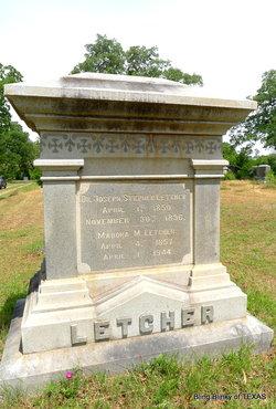 Dr Joseph Stephens Letcher