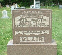 Jean <i>Sinclair</i> Blair