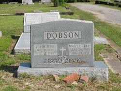 Mary Rosetta Etta <i>Laubenthal</i> Dobson