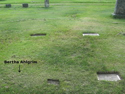 Bertha <i>Gehritz</i> Ahlgrim
