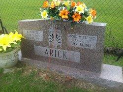 Annie Laura <i>McCluskey</i> Arick