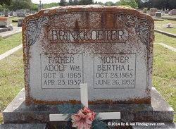 Bertha <i>Kohlenberg</i> Brinkkoeter