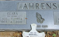 Clara <i>Ketron</i> Ahrens