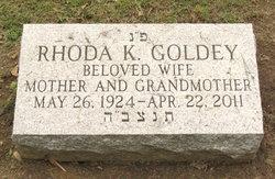Rhoda <i>Kimmel</i> Goldey