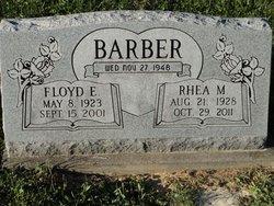 Rhea M <i>Evans</i> Barber