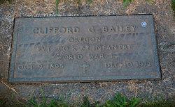 Clifford G. Bailey