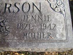 Jennie <i>Kinstler</i> Anderson