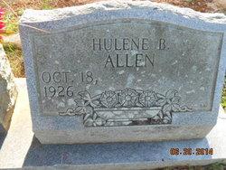 Hulene <i>Boyd</i> Allen