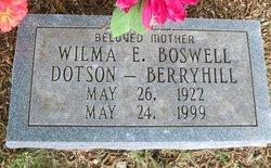 Wilma Elizabeth <i>Boswell</i> Berryhill