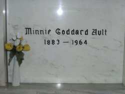 Minnie Laura <i>Goddard</i> Ault