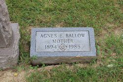 Agnes Elizabeth <i>Greenwell</i> Ballow