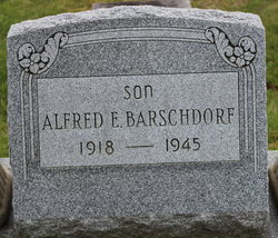 PFC Alfred E Barschdorf