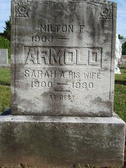 Sarah A Armold