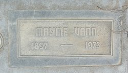 Mayme Jewell <i>Nevada</i> Vann