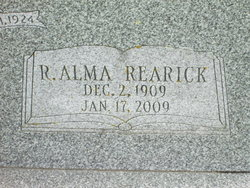 Ruth Alma Alma <i>Rearick</i> Bingaman