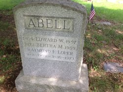 Edward W Abell