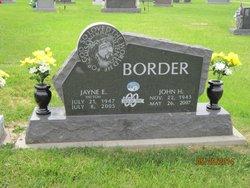 Jayne Ellen <i>Patton</i> Border