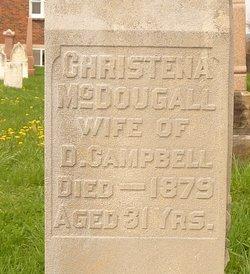 Christena <i>McDougall</i> Campbell