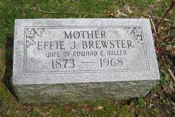 Effie Jeanette <i>Brewster</i> Miller