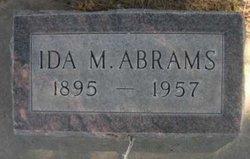 Ida May <i>Ash</i> Abrams